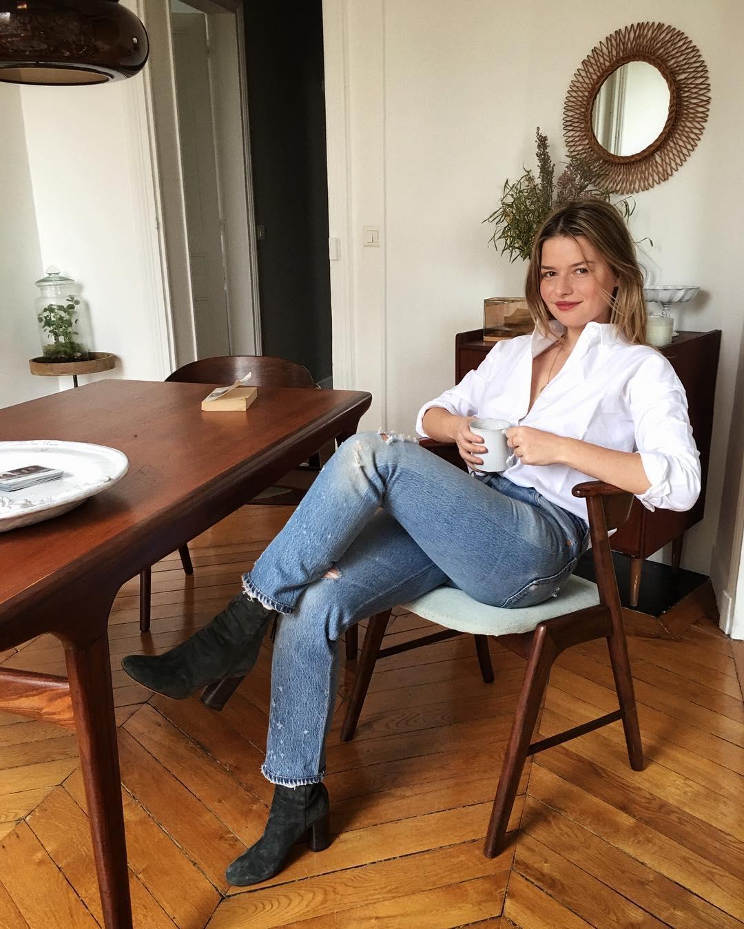 French wardrobe basics, Parisian wardrobe basics, Sabina Socol