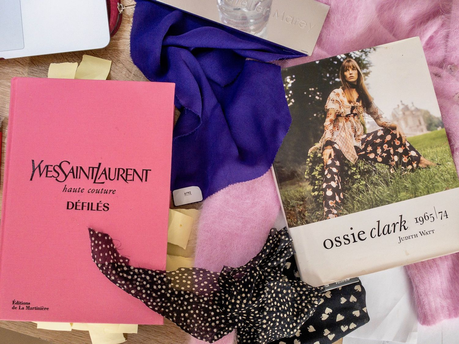 Mirae Atelier YSL Book Inspiration and 60s Sweater