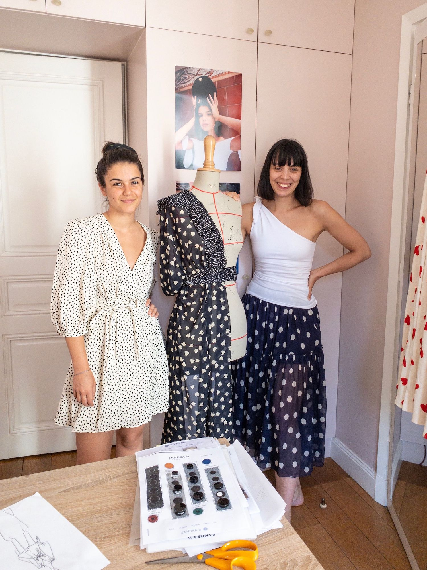 Mirae Atelier Founders Camille Jarmon and Edith Cabane