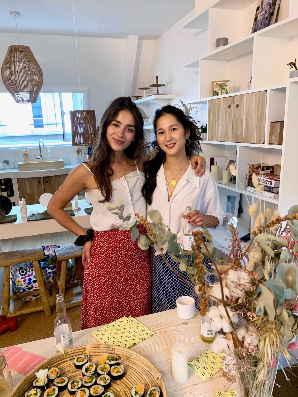 Petite Chineuse founders Hannah Stioui and Lauren Ferranti