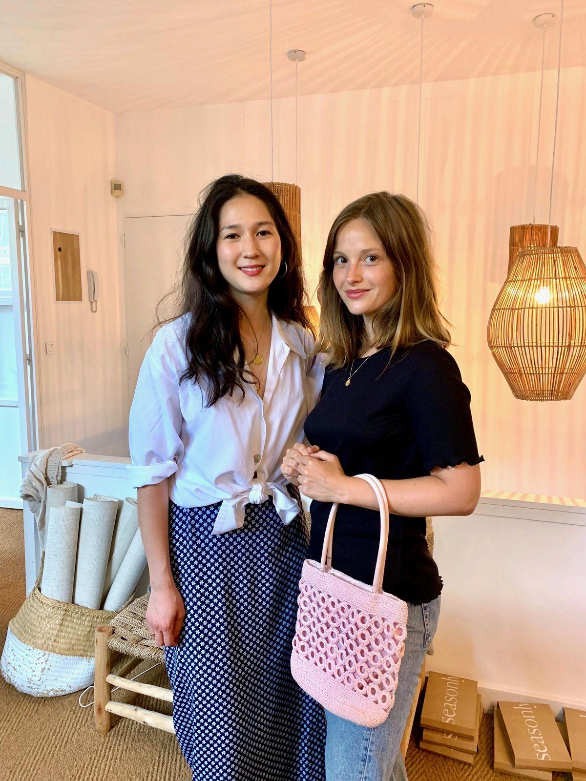 Hannah Stioui and Camille Yolaine