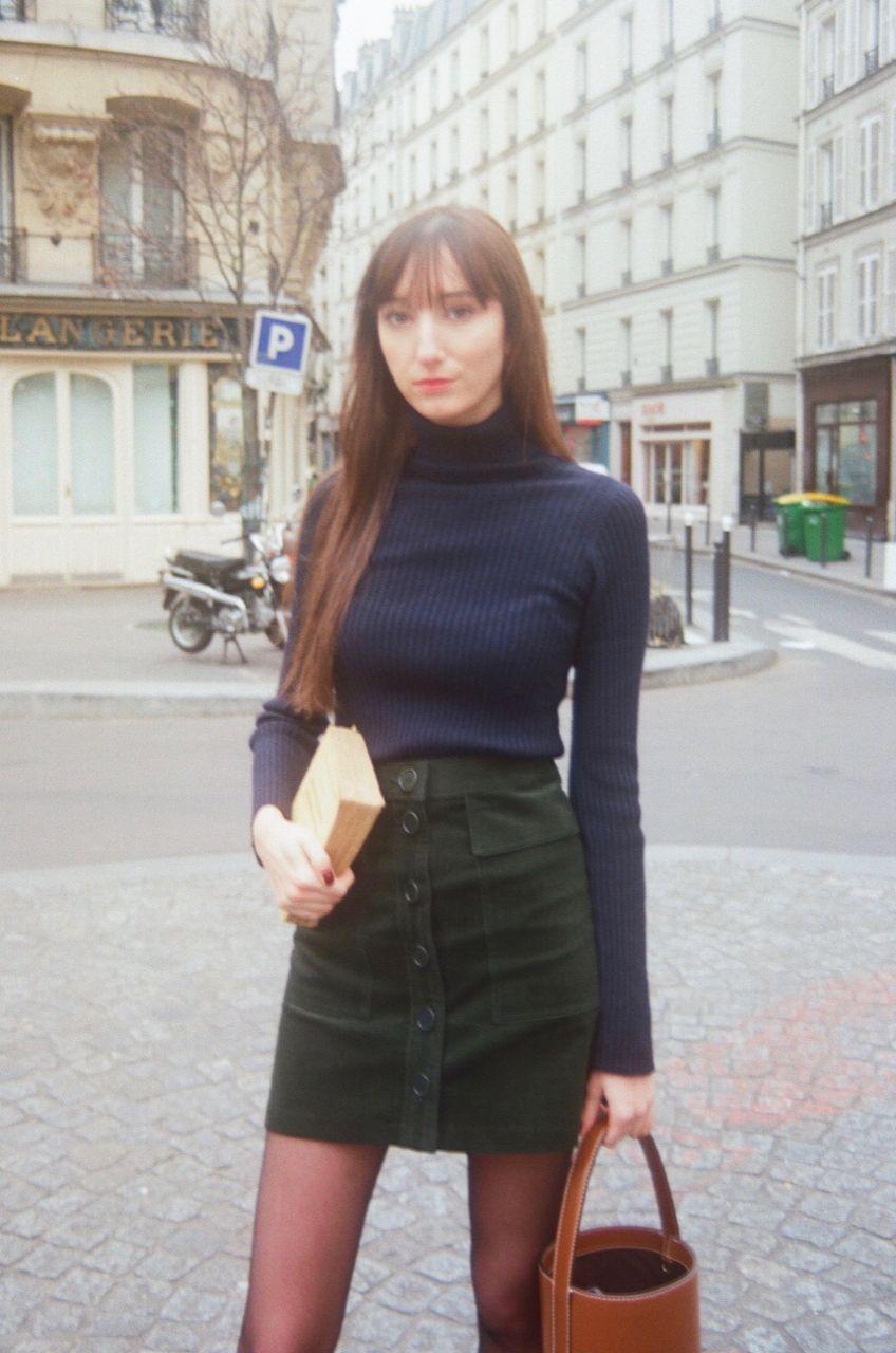 Nathalie Dumeix Skirt and Turtleneck 5