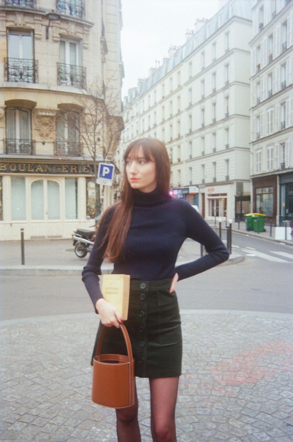 Nathalie Dumeix Skirt and Turtleneck 6