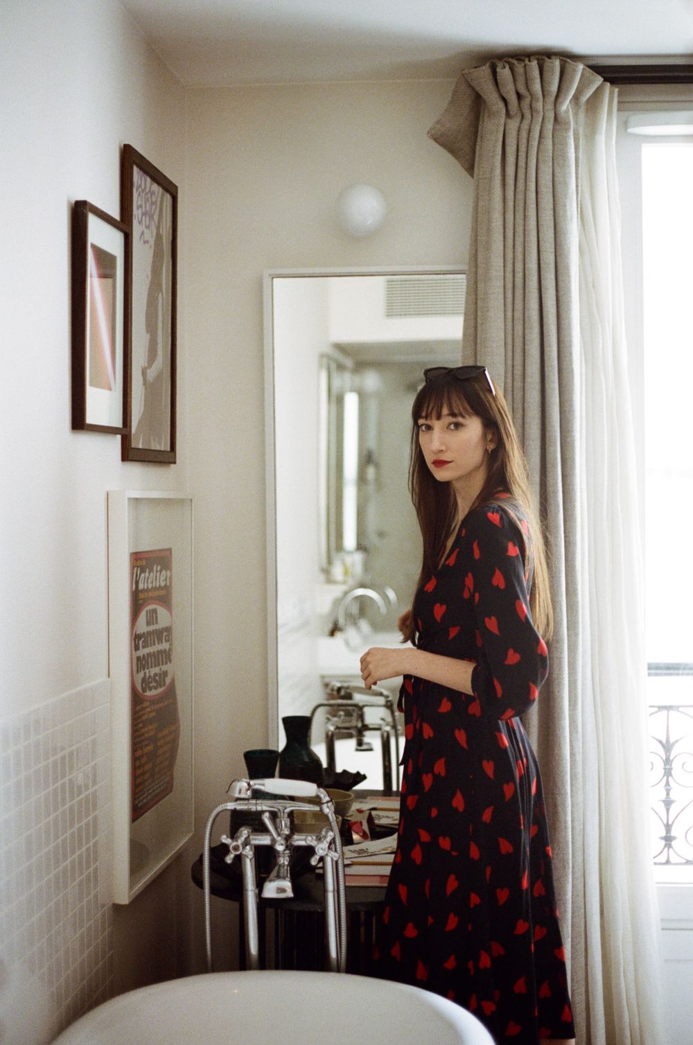 Mirae Victoria Dress Parisian Valentine's Day